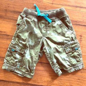 Boys XS (4/5) Camo Cargo Shorts